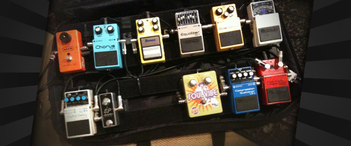 Tour Prep Time - Pedal board concern